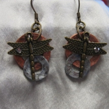 Dragonfly Earrings - Cold Connections